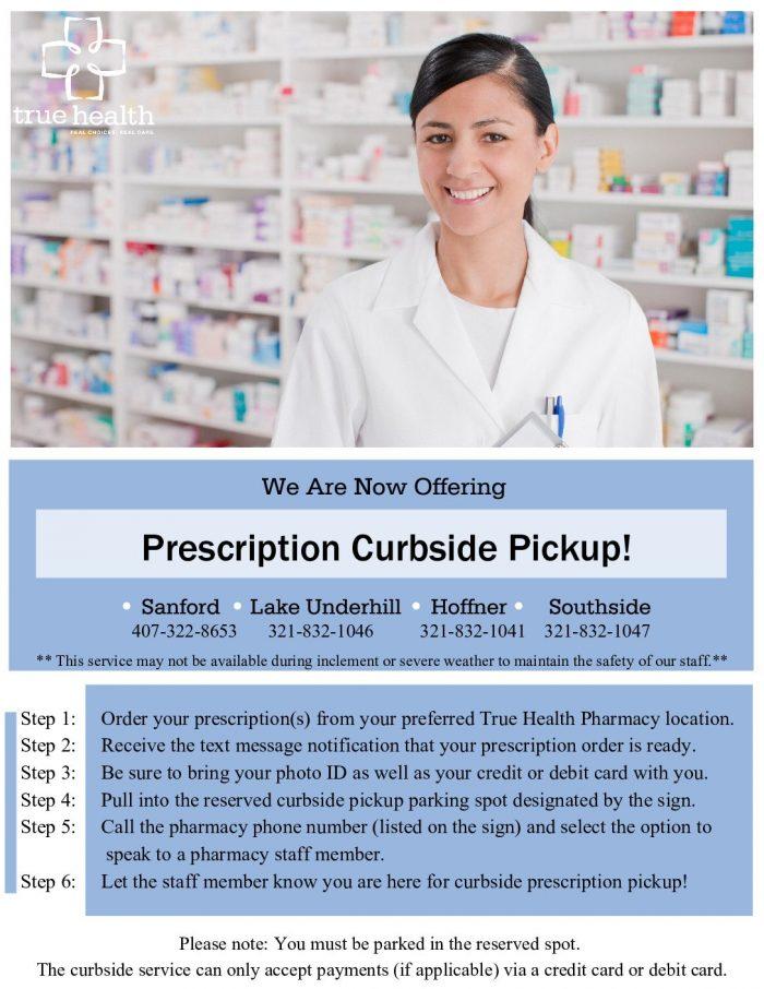 Pharmacy Curbside Pickup