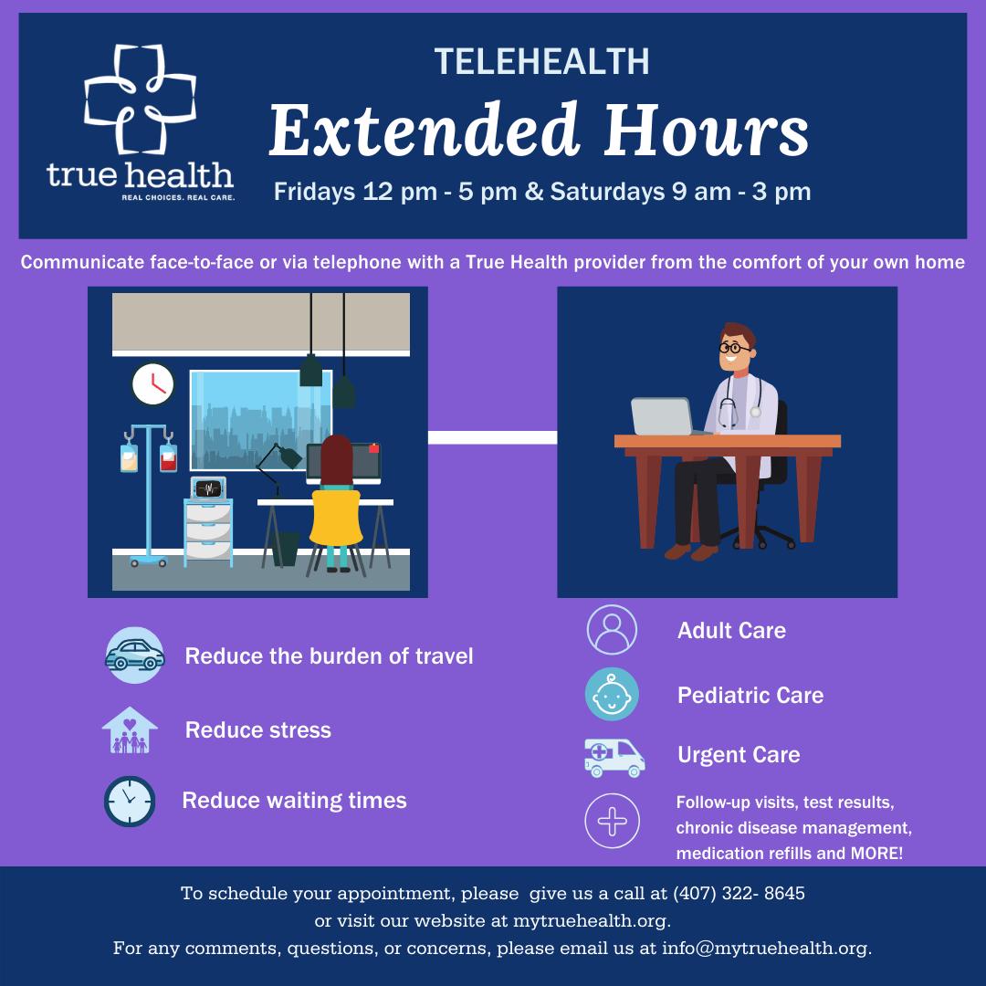 Telehealth Extended Hours